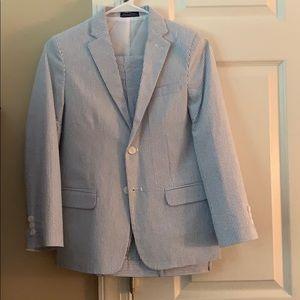 Boys seersucker suit